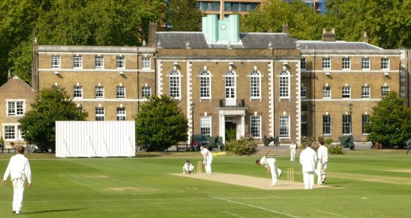 Cricket for Change's 'Street 20 World XI' at the Honorable Artillery Ground, London